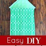 Easy DIY Kitchen Towel
