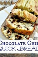 Quick Bread Recipes – Chocolate Chip Quick Bread