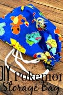 DIY Pokemon Storage Bag