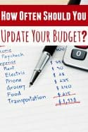 How Often Should You Update Your Personal Budget?