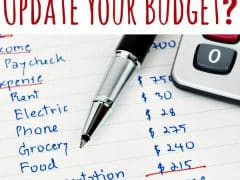 Family Budget: How Often Should You Update Your Budget?