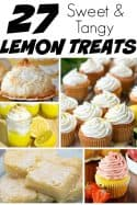 Lemon Recipes – 27 Sweet and Tangy Lemon Treats