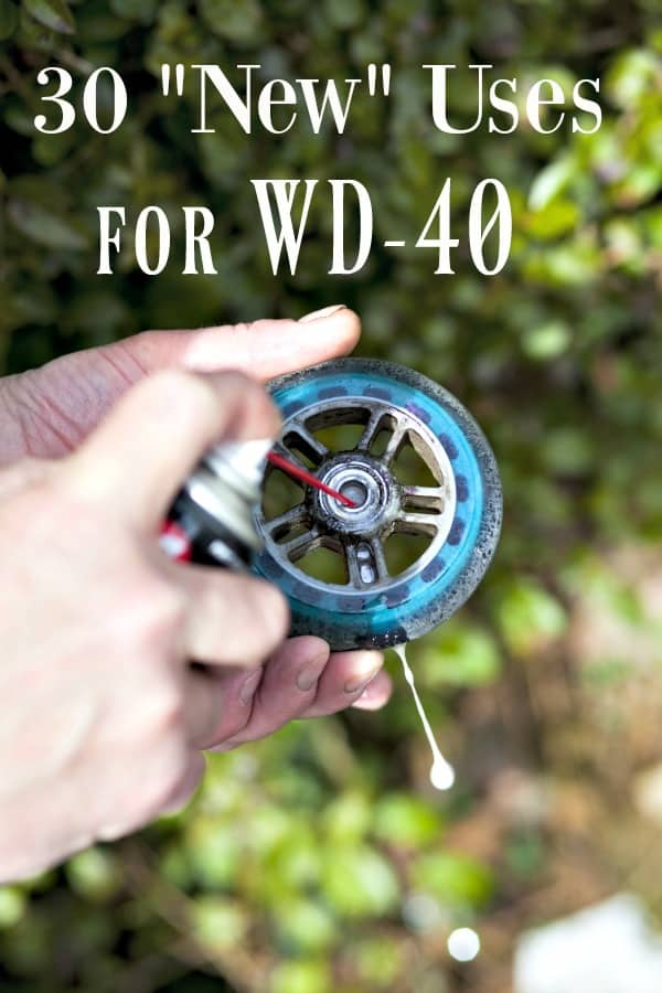 "The Squeaky Wheel gets the grease? Think WD-40 is ONLY for tight bolts and squeaky wheels? Think again! These 30 ""New"" Ways to Use WD40 will have you amazed that you didn't know them before!"