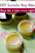 DIY Lavender Sleep Balm