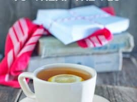 Home Remedies for the Flu + a Flu Fighting Essential Oil Blend {14 Ways to Treat the Flu Naturally}