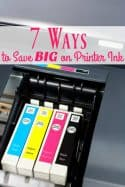 Seven Ways to Save Money on Printer Ink