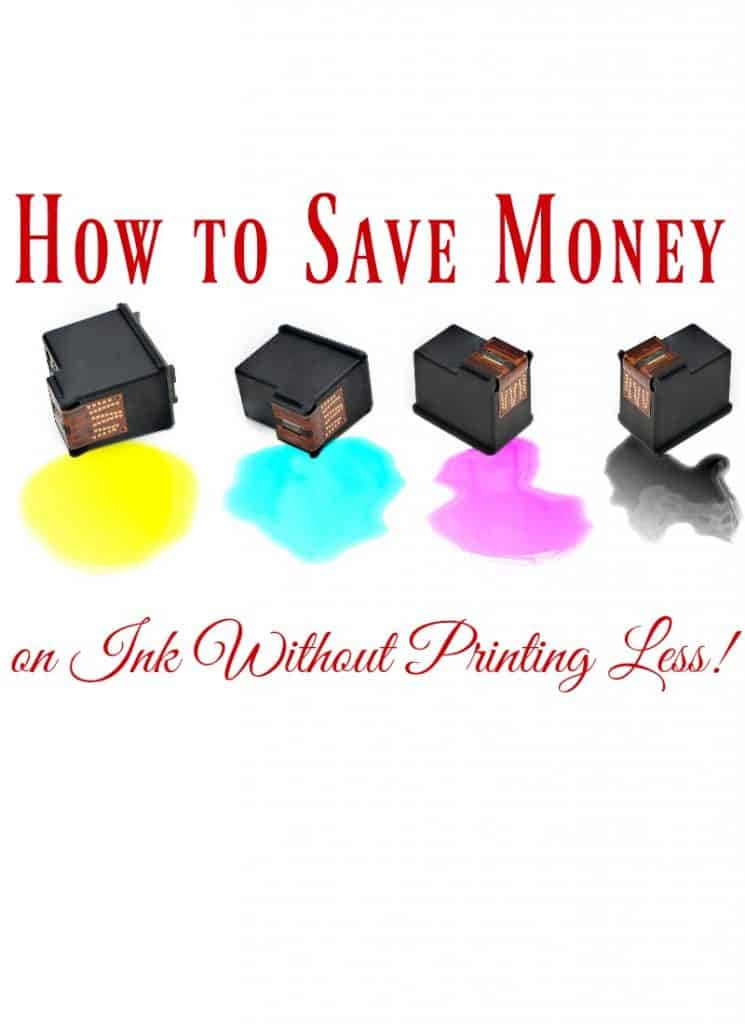 Is paying for printer ink killing your budget? You need to learn how to save money on printer ink! These 7 ways to save money on printer ink can help!