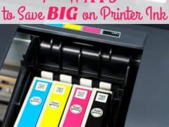How to Save Money on Printer Ink – Seven Ways to Save