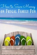 Bored? Don't be! There are a lot of different ways that you can save on family fun and I'm going to show you how! These tips are tricks are my absolute best and will show you how to save money on frugal family fun in no time!