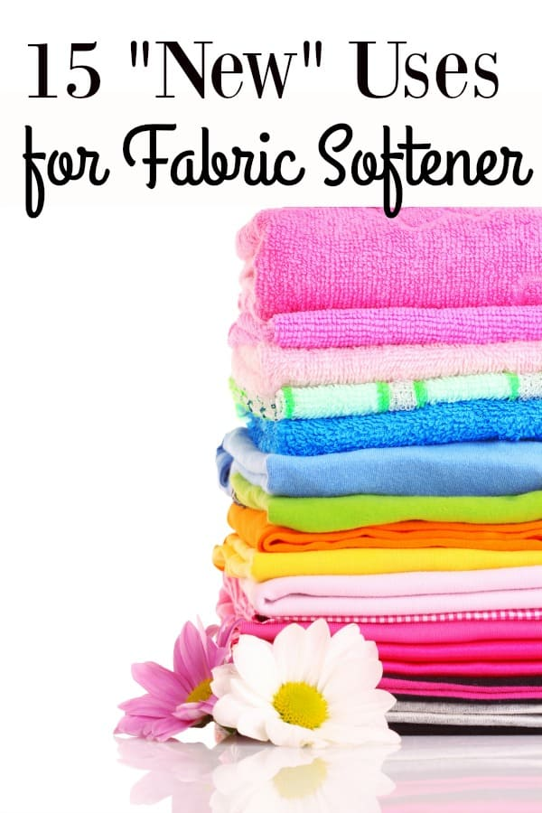 15 New Ways To Use Fabric Softener