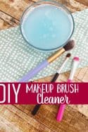 DIY Makeup Brush Cleaner – Easy Way to Clean Makeup Brushes Naturally