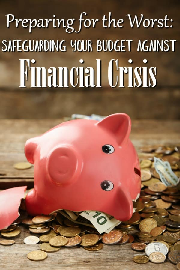 How to Safeguard Your Finances Against a Financial Crisis - Think a financial crisis can't happen to you? Think again! They happen before you even know it! These tips can help you protect your family budget and bank accounts!
