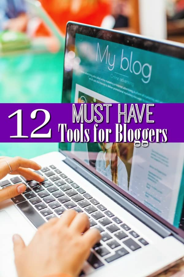 Run a blog but need to take things to the next level? These 12 Must Have Blogging Tools for Bloggers can help increase your blog traffic, make more money from your blog and more! They're personally tried and tested by me and all are highly recommended!