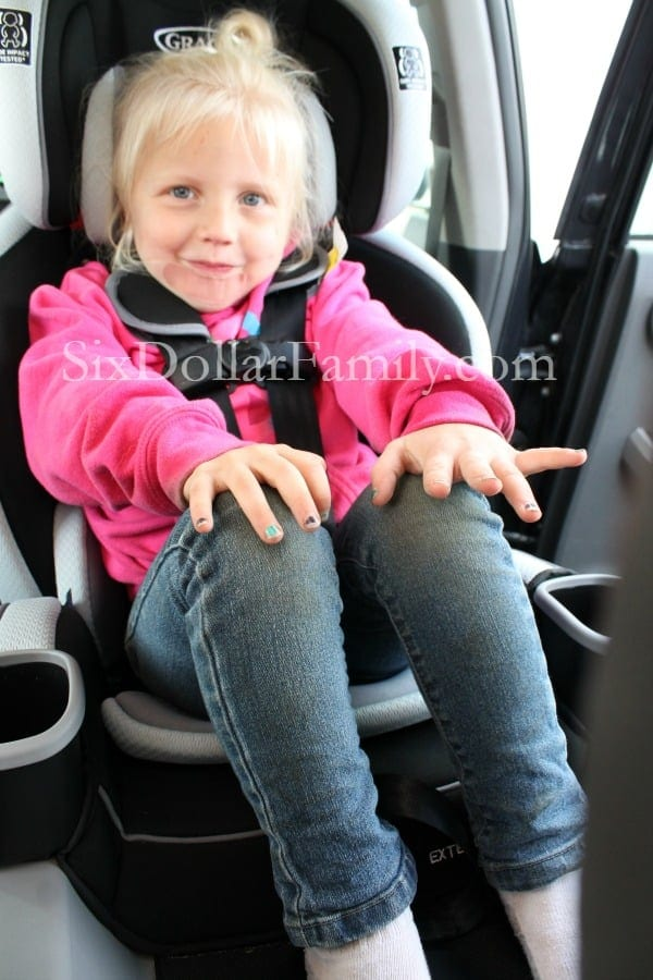 Graco Extend2fit Car Seat Review 2