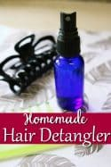 Homemade Hair Detangler – All Natural & Chemical Free