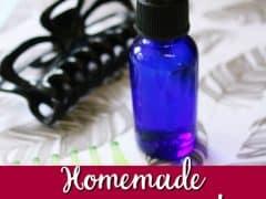 Homemade Hair Detangler – All Natural & Chemical Free