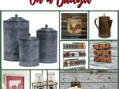Farmhouse Kitchen Decor That Won't Break Your Family Budget