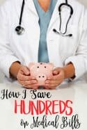 Medical bills and doctor visits are super expensive! We use telehealth to save on them! Let me show you how to save on medical bills and not have to leave your home to do it!