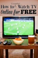 How to Watch TV Online for Free
