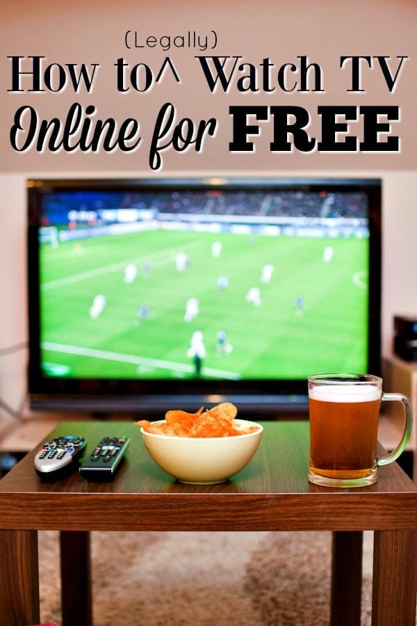 How to Legally Watch TV Online for Free - Hulu, Netflix and