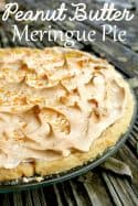 My Favorite Peanut Butter Meringue Pie Recipe