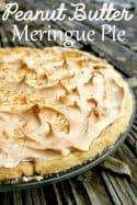 My Favorite Peanut Butter Meringue Pie Recipe