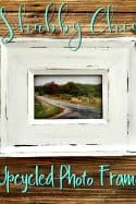 Easy Shabby Chic Upcycled Photo Frame
