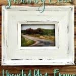 Easy Shabby Chic Upcycled Photo Frame