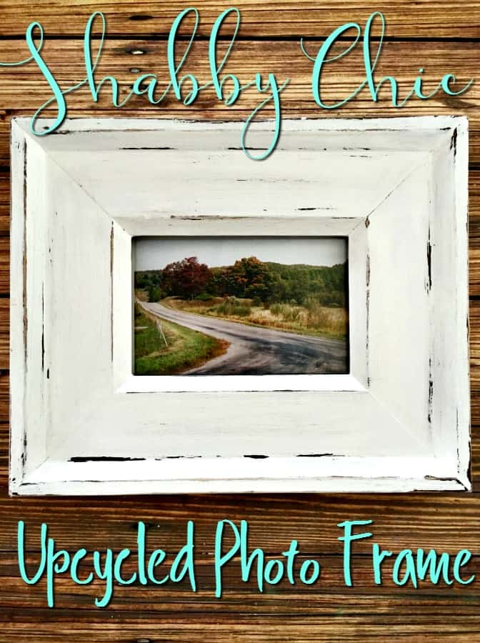 Thrift Store Shopping Easy Upcycled Photo Frame