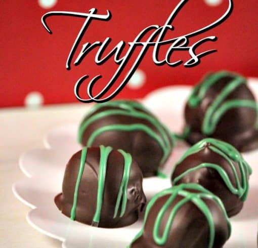This Girl Scout Cookies Recipe for Thin Mint Truffles is a Tried and True Favorite!