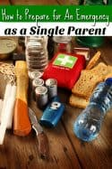 Emergency Preparation Tips for Single Parents