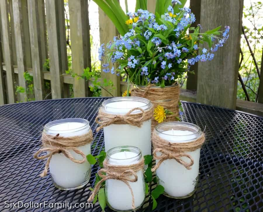 Say farewell to mosquitoes! These DIY Citronella candles are a fantastic natural mosquito repellent, make a great gift and work fantastic!