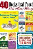 Ready to teach your kids about money, how to manage it and more? These 40 books that teach kids about money are the perfect place to start! They're fun and educational too! Check the post for options for all ages!