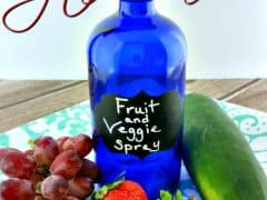 Homemade Vegetable Wash – Clean Your Fruits and Vegetables Easily and Naturally!