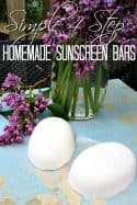 DIY Sunscreen Bars – Simple to Make with Only 4 Steps!