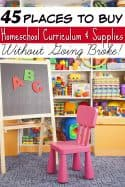 45 Places to Buy Homeschool Curriculum and School Supplies Without Going Broke