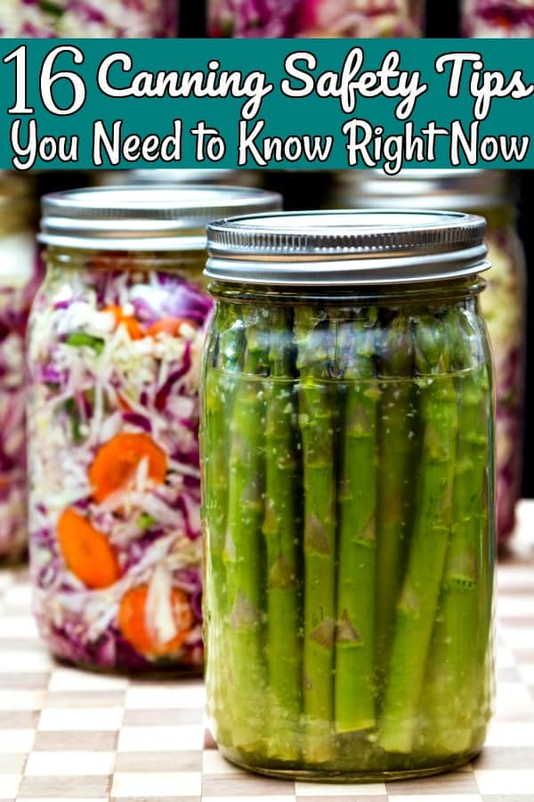 Pressure Canning Safety Tips - Don't start your pressure canner yet! These 16 canning safety tips will help you can awesome foods while keeping you and your family safe at the same time!