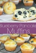 Blueberry Pancake Muffins Recipe – Freezer Cooking Recipes