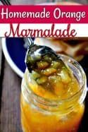 Small Batch Canning Recipes – Homemade Orange Marmalade Recipe