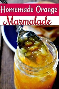 Orange Marmalade Recipe - Bring summer to your table all year long with this homemade orange marmalade recipe! It's one of my favorite small batch canning recipes!