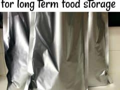 Emergency Preparedness – How to Use Mylar Bags for Long Term Food Storage