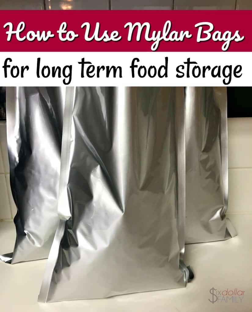 Curious how to use mylar bags in your emergency preparedness and long term food storage? Let me show you how easy it is!