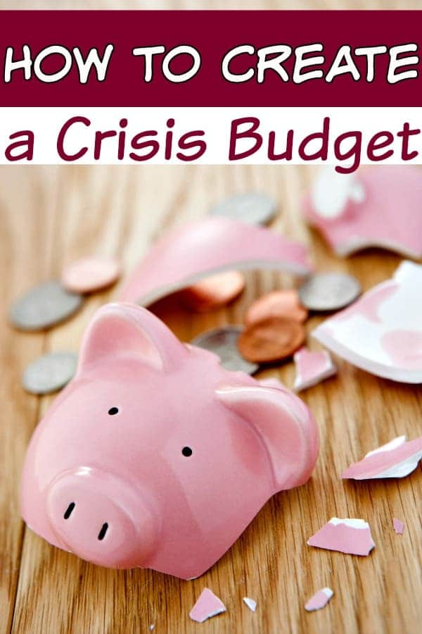 Is your budget in crisis? If so, take heart. Learning how to create a crisis budget isn't as hard as it may seem! Your personal budget will be back on top in no time with these tips!