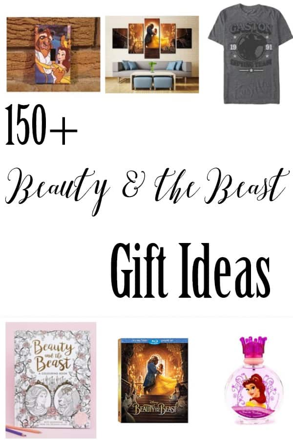Holiday Gift Guide - 150+ Beauty and the Beast Gift Ideas - Shopping for someone who loves Beauty and the Beast? Your gift is right here! OVER 150 gift ideas they're sure to love!