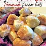 Please allow me to introduce you to my favorite homemade dinner rolls recipe. Soft and buttery, this freezer friendly dough is perfect for your dinner table!
