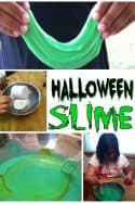 Kids Crafts – Homemade Halloween Slime