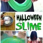 Kids Crafts – Homemade Halloween Slime