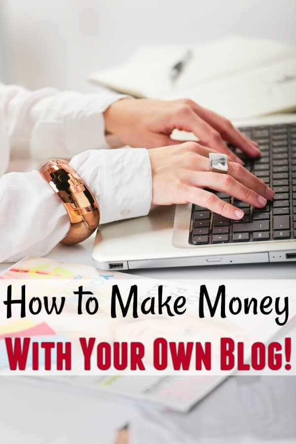 How to Make Money Blogging - Have you ever wanted to make money blogging? If so, what are you waiting for? It's super simple and you can get started right away!