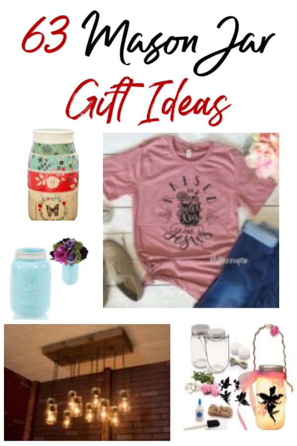 Love mason jars or shopping for someone who does? Then these 63 mason jar gift ideas are just what you need! Hand picked to make the best mason jar gifts period!