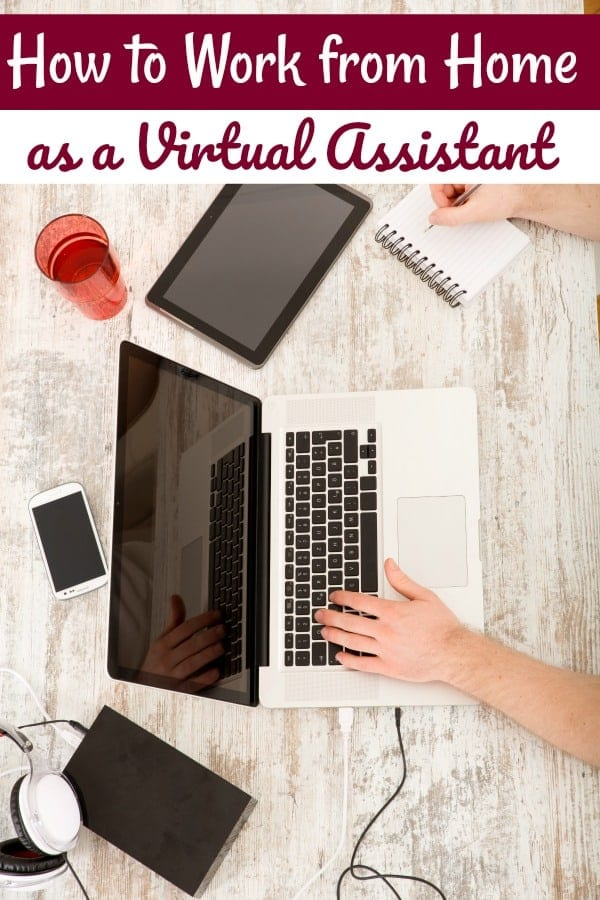 How to Work from Home as a Virtual Assistant - Have you ever wanted to work from home, but didn't see a way? This is one of my favorite ways to work from home! Let me show you how you can make a full-time income at home with no surveys, no MLM and no scams!